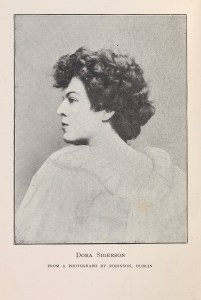 Photograph of Dora Sigerson Shorter reproduced from 'The tricolour' (1922)
