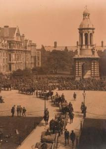 Photograph of Troops in Front Square TCD/MUN/MC/207