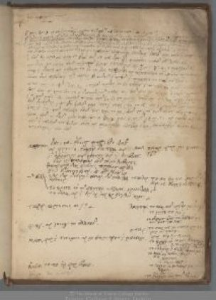 Walter Travers, A theological notebook, c 1580 TCD MS 324, f. 4