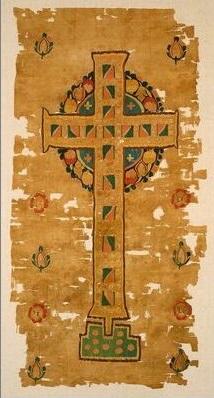 Figure 3 Curtain, Coptic, 5th-6th century, Minneapolis Institute of the Arts (83.126). Source.