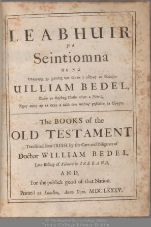 'Leabhuir na Seintiomna ...' D.f.39