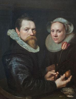 Painting by Michiel Jansz van Miereve, 1609. Source: Wikicommons