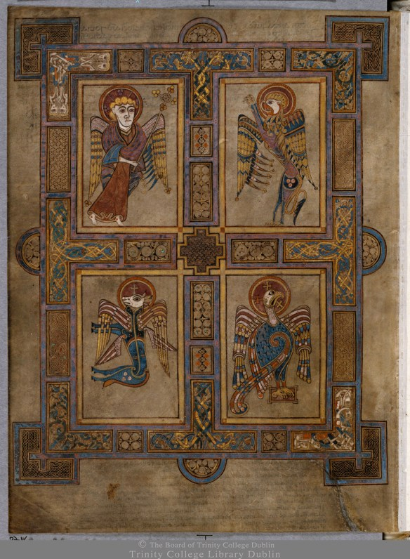 The Book of Kells TCD MS 58 f27v