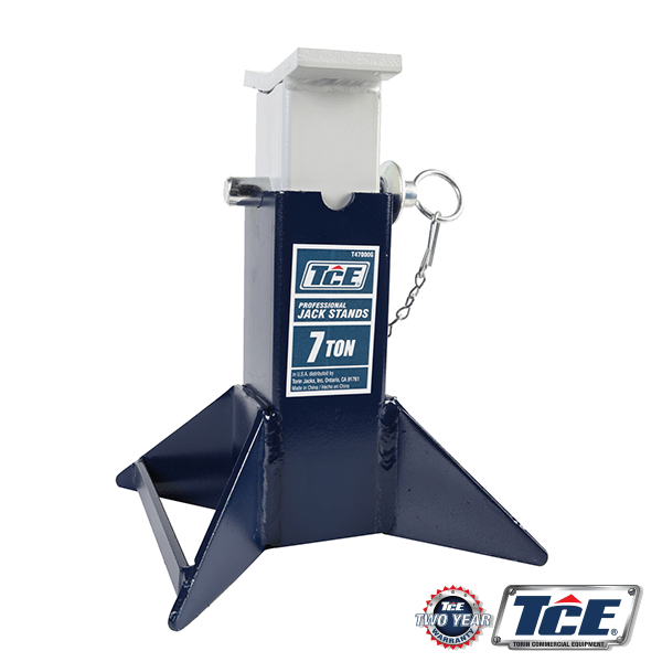 TCE47000 SQUARE TUBE VEHICLE SUPPORT STAND 7TON