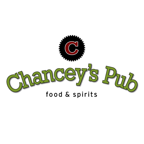 logo design, Chanceys Pub Food & Spirits