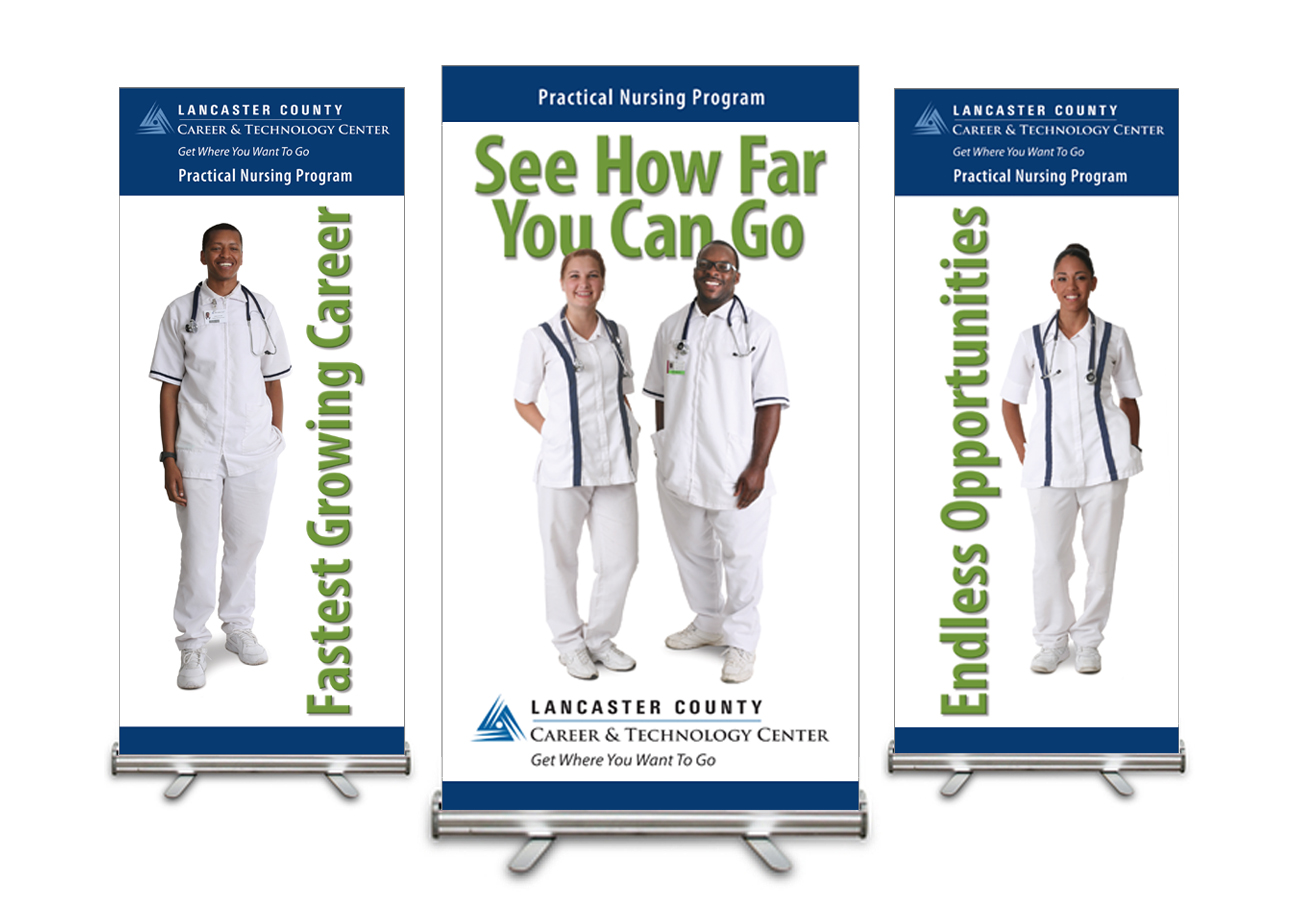 Lancaster County CTC Pull-Up Banners