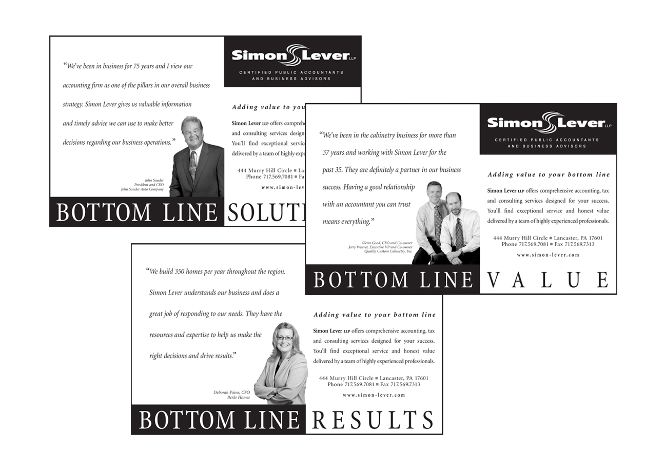 Simon Lever Ads