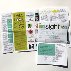 insight newsletter design