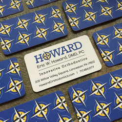 howard business cards
