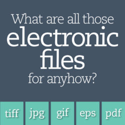 electronic file formats