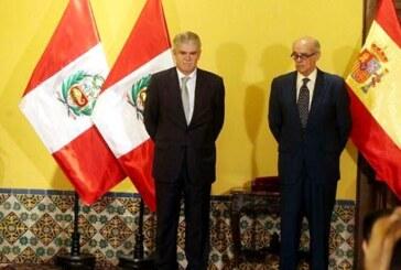 """España pide a Perú tener """"una relación privilegiada"""" con la Alianza del Pacífico"""