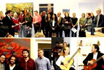 En la Embajada ecuatoriana en Berlín se inaugura la exposición Magia Silvestre