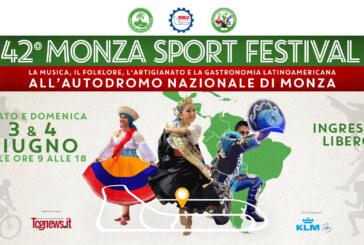 America Latina sarà protagonista della 42° Monza Sport Festival