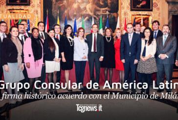 Grupo Consular de América Latina firma histórico acuerdo con el Municipio de Milán
