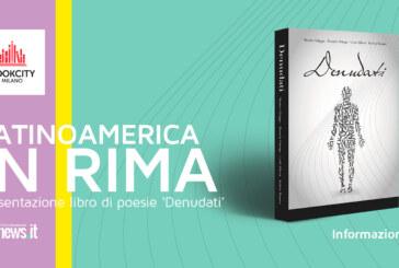 Latinoamerica in rima: presentazione libro di poesie 'Denudati'