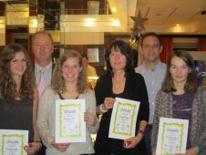 Damen Gruppensieger Bezirksklasse 2 Oberbayern 2013