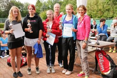 Sieger Juniorinnen Landkreismeisterschaft Ebersberg 2013