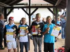 Sieger U14 männlich Landkreismeisterschaft Ebersberg 2015