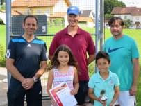 Sieger Kleinfeld U9 Clubmeisterschaft TC Topspin Grafing Ebersberg 2016