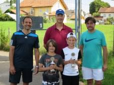 Sieger Midcourt U10 Clubmeisterschaft TC Topspin Grafing Ebersberg 2016