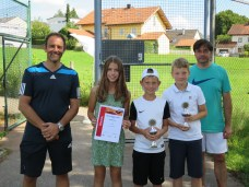 Sieger Bambini U12 Clubmeisterschaft TC Topspin Grafing Ebersberg 2016