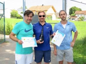 Sieger Herren B Clubmeisterschaft TC Topspin Grafing Ebersberg 2016