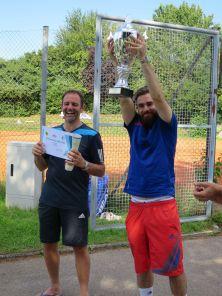 Sieger Herren Clubmeisterschaft TC Topspin Grafing Ebersberg 2016