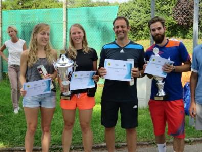 Sieger Damen / Herren Clubmeisterschaft TC Topspin Grafing Ebersberg 2016