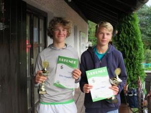Sieger U18 männlich Landkreismeisterschaft Ebersberg 2016