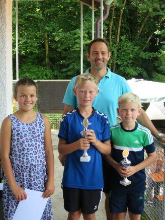 Sieger Midcourt Clubmeisterschaft TC Topspin Grafing Ebersberg 2017