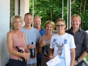 Rundenchampions Damen/Herren Clubmeisterschaft TC Topspin Grafing Ebersberg 2017