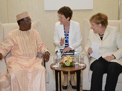 Semaine africaine de la chancelière allemande Angela Merkel: le Président Idriss Déby sera reçu ce mercredi à Berlin