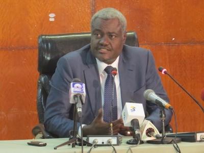 Moussa Faki Mahamat, ministre tchadien des Affaires étrangères et de l'Intégration africaine