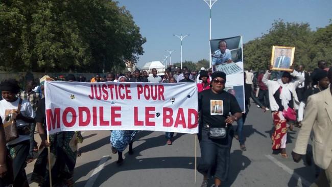 Obsèques de Modilé Le Bad à Toukra: ses amis et camarades lui ont rendu un vibrant hommage