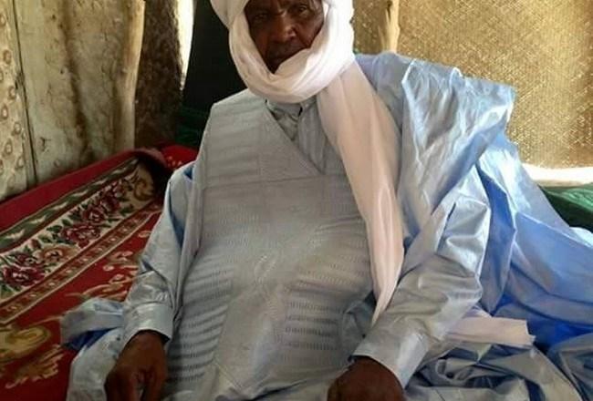 Tchad: décès de Tchou Hangatta Yoskomi, Chef de canton des Gaïda Heyer de l'Ennedi