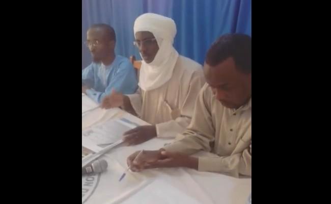 Découpage administratif du Tchad: lors d'une conférence de presse à N'Djaména, des jeunes expriment leur colère contre le rattachement de Fada à Am-Djarass