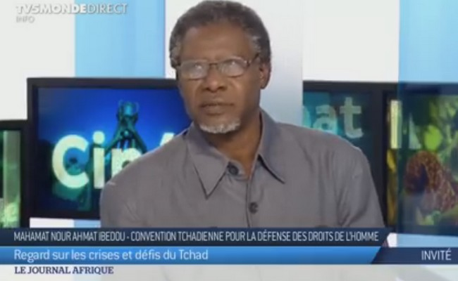 «En ce moment, il y a la misère partout au Tchad» (Mahamat Nour Ahmat Ibedou de la CTDDH)