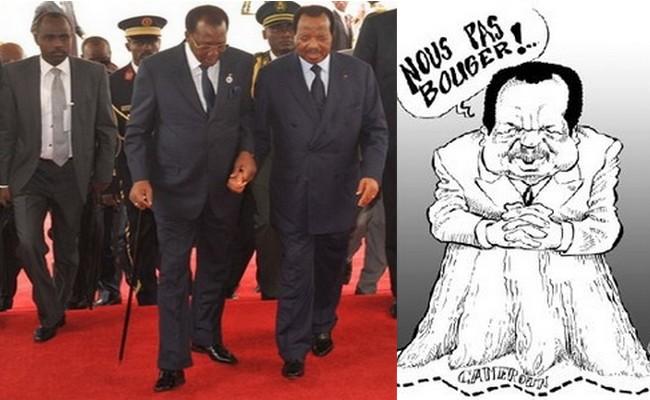 Crise politique au Cameroun et au Tchad: quand Biya convoque un «grand dialogue national», son compère Déby prolonge l'état d'urgence de 4 mois