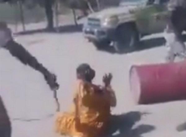 Tchad: une vidéo d'une femme violemment réprimée par les militaires du régime choque l'opinion