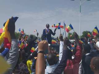Tchad: démonstration de force de Succès Masra et ses «Transformateurs» à N'Djaména