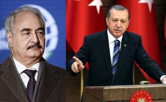 Le Président turc Erdogan: «Haftar n'est qu'un pirate là-bas»