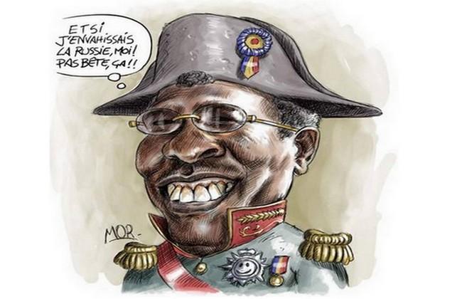 Le voleur de l'Education nationale veut nommer le Général Idriss Déby Maréchal du Tchad