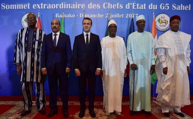 Le Président Macron demande aux pays du G5 Sahel de clarifier leurs positions sur l'engagement de la France