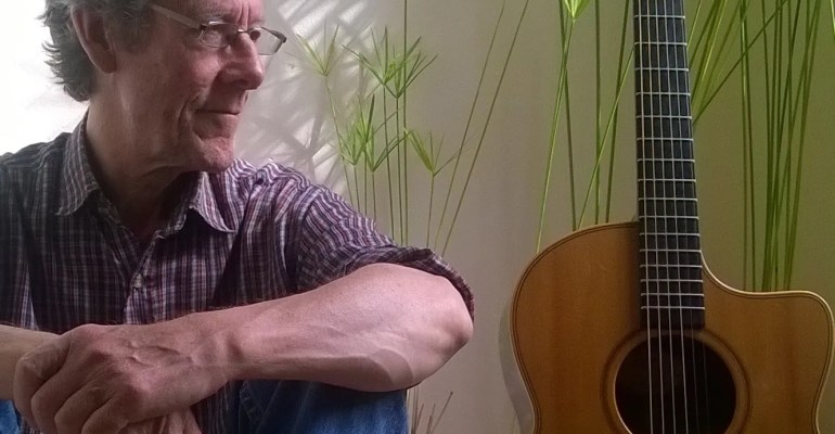 John Higgins. Non-threatening guitar music for tea-drinking and conversation.