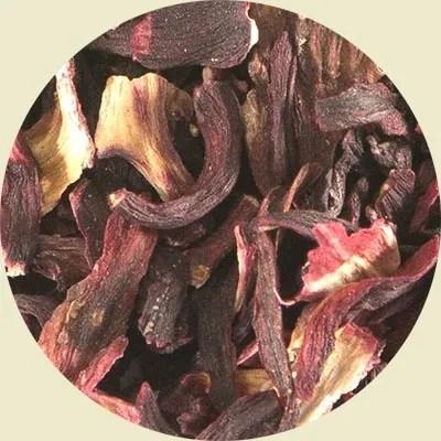 Hibiscus herbal tea