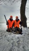 Sarah and her husband went pheasant hunting in North Dakota just before Christmas this year.