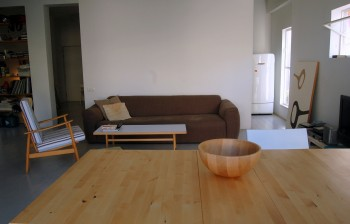 Living room and diningroom table