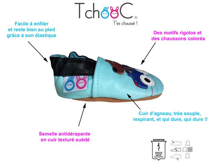 code promo edc30 fe5db chaussons bébé enfant adulte en cuir