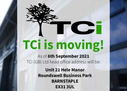 TCi is moving!