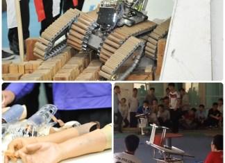 มหกรรมหุ่นยนต์อาชีวศึกษา ประจำปี 2560